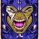 Mi Proyecto del curso: Ilustración vectorial: más volumen y rock and roll. Hulk: Thor Ragnarok. Un proyecto de Ilustración e Ilustración digital de Fabian Baeza - 01.01.2020