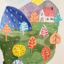 Meu projeto do curso: Introdução à ilustração infantil. Um projeto de Colagem, Criatividade, Desenho a lápis, Desenho artístico e Ilustração infantil de Beatriz Más SaintMartin - 03.01.2020