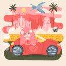 Mi Proyecto del curso: Ilustración digital con texturas en Photoshop. Um projeto de Ilustração e Ilustração digital de Juan Dellacha - 03.01.2020