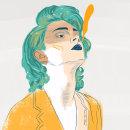 Retratos. Um projeto de Design de personagens, Design editorial, Design de moda, Ilustração digital e Ilustração de retrato de Maialen Lleó - 06.01.2020