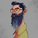 Personajes 2019 (Primera Parte). Un proyecto de Ilustración, Diseño de personajes, Ilustración digital e Ilustración infantil de Martin A. Rodriguez Molina - 15.05.2019
