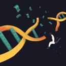 Un negocio genético | Forbes . A Illustration, Drawing, and Digital Design project by Fran Pulido - 01.08.2020
