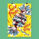 Fiesta de Sant Medir. Un progetto di Design di poster , Graphic Design e Illustrazione di Enrique Molina - 13.01.2020