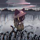 Gato Soldado. Un progetto di Illustrazione, Character Design , e Animazione 2D di Luis Zúñiga - 12.01.2020