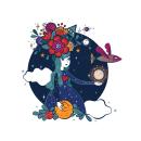Mi Proyecto del curso: Ilustración para no ilustradores . Um projeto de Ilustração, Ilustração digital, Concept Art e Ilustração infantil de Esmeralda Barrón Padilla - 15.01.2020