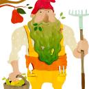 El pagés barbut. Um projeto de Ilustração de Stiliana Mitzeva - 16.01.2020