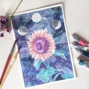 Mi Proyecto del curso: Creación de paletas de color con acuarela. Um projeto de Ilustração, Ilustração botânica e Pintura em aquarela de Lori Artista - 16.01.2020