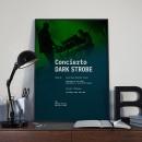 Mi Proyecto del curso: Diseño de carteles para eventos musicales . A Poster Design project by Andrés Rivera Gómez - 01.19.2020