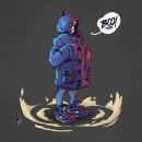 Millennial Skeletor. Un proyecto de Ilustración, Diseño de personajes, Cómic e Ilustración digital de Martin A. Rodriguez Molina - 16.01.2020
