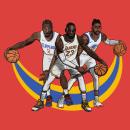 Basketballers. Un proyecto de Ilustración digital de iamkikin - 01.11.2019
