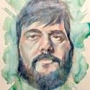 Mi Proyecto del curso: Retrato artístico en acuarela. Un progetto di Illustrazione di ritratto di jimenezpena - 18.01.2020