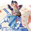 CORAZÓN DE JIRAFA. Un proyecto de Diseño, Ilustración, Diseño gráfico, Retoque fotográfico, Creatividad, Dibujo a lápiz, Dibujo, Diseño de carteles e Ilustración digital de José Miguel Mayo Hernández - 07.02.2020