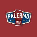Palermo Boxing Club. A Design, Br, ing, Identit, Graphic Design, Web Design, Poster Design, and Logo Design project by Agustín Spinelli - 01.26.2016