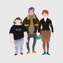 Tasa-Arvo Pelissä. Um projeto de Design de jogos, Design de personagens e Ilustração digital de Stiliana Mitzeva - 28.01.2018