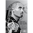 In loving memory of Kobe Bryant. Um projeto de Design, Design gráfico, Ilustração vetorial e Ilustração de retrato de Rafael Cortes Casas - 28.01.2020