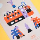 Calendario Macho Dominante 2020. Um projeto de Design gráfico e Ilustração de Stereoplastika - 29.01.2020