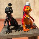 Petetesaurio Rex Toy. Um projeto de 3D, Escultura e Design de brinquedos de David González - 01.06.2018
