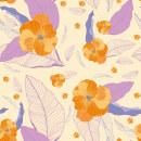 FLORES CALIDAS. Un proyecto de Diseño gráfico, Diseño de moda, Ilustración digital, Ilustración textil y Tejido de viviana zapata - 31.01.2020