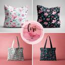 Mi Proyecto del curso: Diseño de estampados textiles. Um projeto de Ilustração e Ilustração têxtil de Lori Artista - 02.02.2020