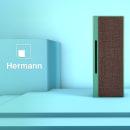 Hermann Speaker: Prototipado y visualizaciones de producto en Cinema 4D. Un proyecto de 3D, Diseño de producto, Concept Art y Fotografía publicitaria de Brian LS - 02.02.2020