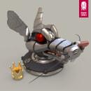 QU33N R4T - 3D Model. Un proyecto de 3D, Dirección de arte y Diseño de personajes 3D de Santiago Camacho - 02.02.2020