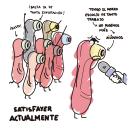 Satisfayer. Un proyecto de Ilustración, Ilustración digital y Humor gráfico de Inma Aseques - 03.02.2020
