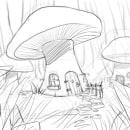 Mushroom World. Un progetto di Graphic Design di Carlos Enrique Roos - 03.02.2020