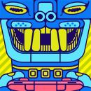 Totem gamer / Personal work. Un progetto di Belle arti, Illustrazione vettoriale , e Design digitale di Walter Conci - 04.02.2020