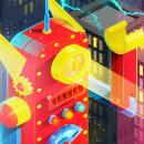 Meca juguete fuera de control. Un progetto di Direzione artistica, Graphic Design e Illustrazione vettoriale di Walter Conci - 04.02.2020