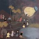 Mi Proyecto del curso: Switch on the night de Ray Bradbury.. Un proyecto de Ilustración infantil de Paz Ramos Reyes - 05.02.2020