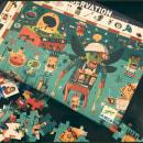 CRAZY LAB PUZZLE. A Design von Figuren, Design für Videospiele und Illustration project by Steve Simpson - 07.02.2018