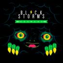 Black Storms Logo + label. Um projeto de Design, Ilustração, Br e ing e Identidade de David González - 01.06.2017