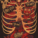 Anatomical Study. A Illustration, Lettering, T und pografie project by Steve Simpson - 10.09.2012