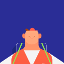 Rappi App. A Motion Graphics, Animation, Character Design, and Character animation project by Gino Lloreda Álvarez - 02.10.2020