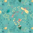 Mundo de bichos.. A Design, Illustration, Character Design, Drawing, and Botanical illustration project by Milena Velez - 01.30.2020