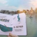 Mi Proyecto del curso: Creación de Libros POP-UP / DE MADRID AL CIELO. Um projeto de Design editorial, Encadernação e Papercraft de Silvia Hijano Coullaut - 11.02.2020