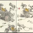 Moleskine sketchbook 36. Un proyecto de Dibujo de Mattias Adolfsson - 16.02.2020