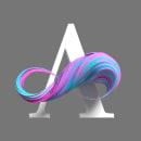 Abstract Alphabet. Un progetto di 3D, Tipografia, Progettazione 3D, Lettering 3D , e Design tipografico di Eduardo Fajardo - 17.02.2020