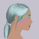 Ariana Grande .... Un proyecto de Ilustración, Ilustración digital e Ilustración de retrato de alehueso99 - 17.02.2020