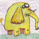 Elefantitos.... Un proyecto de Diseño de personajes, Dibujo e Ilustración infantil de Salva Insa - 18.02.2020