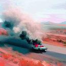burn, baby burn. Un progetto di Illustrazione digitale di Citlali Haro - 20.02.2020