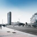 Hotel Suites Málaga Port. Um projeto de Modelagem 3D, Arquitetura digital e 3D Design de Visualfabrik - 21.02.2020