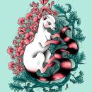 Digital art. Un progetto di Illustrazione, Illustrazione digitale , e Disegno artistico di mireiafedez - 21.02.2020