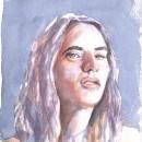 Mi Proyecto del curso: Retrato artístico en acuarela. Un proyecto de Bellas Artes de ivanor - 22.02.2020