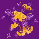 VUELOS DEL ALMA. Un proyecto de Ilustración textil de viviana zapata - 22.02.2020