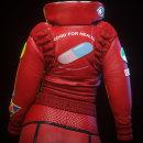 Kaneda's style clothes. Un proyecto de Cine, vídeo, televisión, 3D, Diseño de personajes, Animación de personajes, Animación 3D, Diseño de personajes 3D, Diseño 3D y Desarrollo de videojuegos de Alvaro Obregon - 22.02.2020