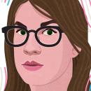 Elsa Ruiz. Un proyecto de Ilustración, Ilustración de retrato e Ilustración vectorial de Capi Cabrera - 27.02.2020