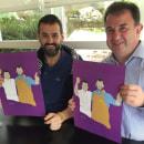 Ilustraciones alta cocina País Vasco /2016. Um projeto de Ilustração, Ilustração digital e Ilustração de retrato de Omar Janaan - 08.08.2016