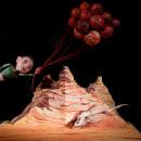 """Títeres y escenografías, """"Donde van los cuentos"""". Un proyecto de Diseño de personajes, Artesanía, Bellas Artes, Escultura, Escenografía e Ilustración infantil de Ibán Sierra Caballero - 02.03.2020"""