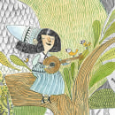 Jardín de Lana/ Microrelato silente. Un proyecto de Ilustración e Ilustración infantil de Paula Bossio - 01.04.2016